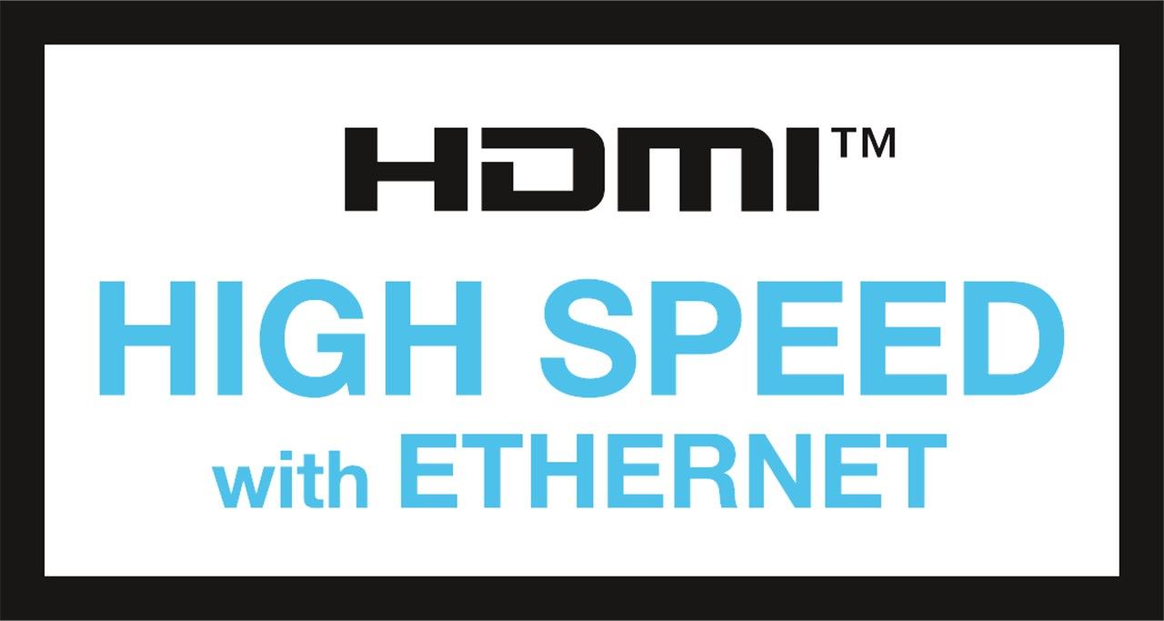 HDMI™ High Speed with Ethernet