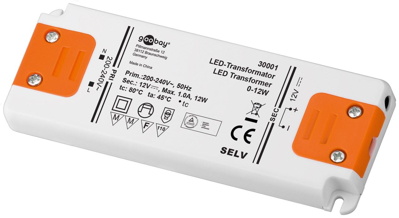 Driver LED Goobay 30633 0.5-15 W 24 V//DC