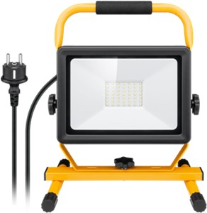 LED work light with stand, 50 W