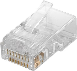 RJ45 Stecker, CAT 5e UTP ungeschirmt