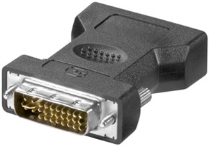 Analog DVI-I/VGA adapter, gold-plated