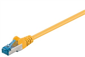 CAT 6A cavo patch - rete S/FTP (PiMF), giallo