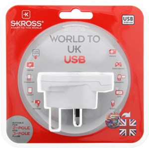 Country Adapter World to UK USB