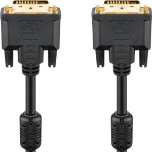 DVI-D Full HD cable Dual Link, gold-plated