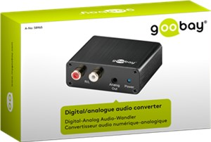 Digital/Analog Audio Wandler
