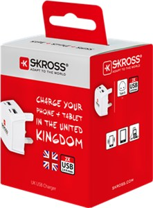 Chargeur USB UK