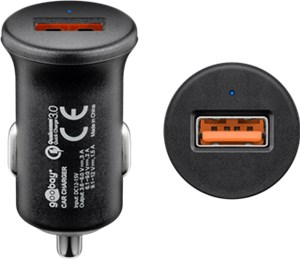 Quick Charge™ QC3.0 USB-Autoschnellladegerät