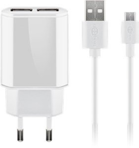 Kit de charge Micro USB double 2,4 A