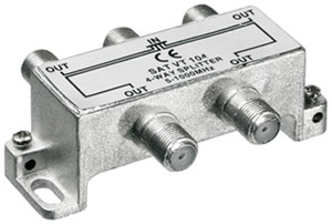 CATV-splitter 4-way