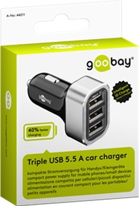 Car Charger (3x USB)