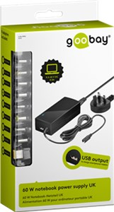 UK - 60 W notebook power supply