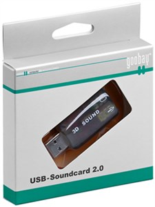 USB 2.0 sound card