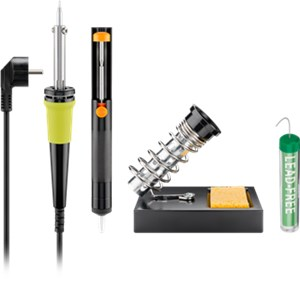 4-piece lead-free soldering set