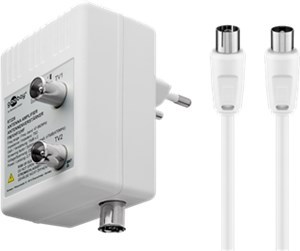 Two-Device Antenna Amplifier (DVB-T / DVB-T2 / DVB-C)