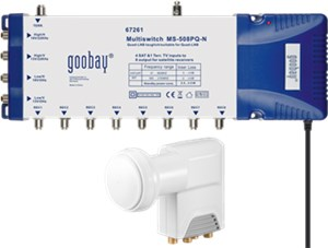 Kit multiswitch/LNB