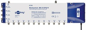 SAT multiswitch 5 ingressi / 12 uscite