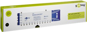 SAT multiswitch 5 ingressi / 16 uscite