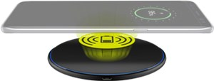 Fast Wireless Charger 10W (black)