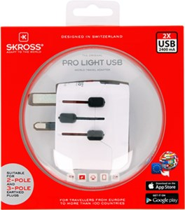 World Adapter PRO Light USB