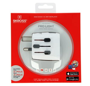 World Adapter PRO Light