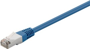CAT 5e patchcable, F/UTP, blue