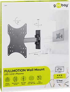 Supporto da parete per TV Basic FULLMOTION (S)