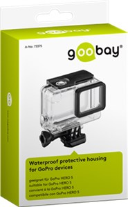 Waterproof protective housing for GoPro devices