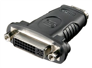 Adattatore HDMI™/DVI-D, placcato nickel