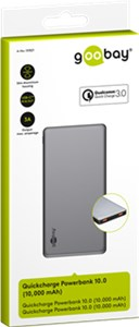 Quick Charge Powerbank 10.0 (10.000 mAh)