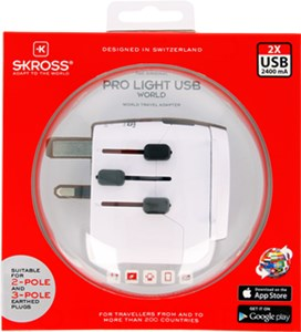 World Adapter PRO Light USB World