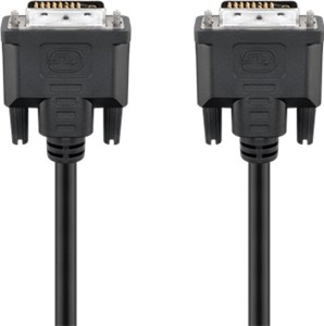 DVI-D Full HD cable Dual Link, nickel