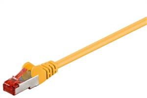 CAT 6 patch cable S/FTP (PiMF), yellow
