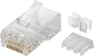 RJ45 Stecker, CAT 6A UTP ungeschirmt