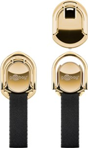 Finger strap (gold/black)