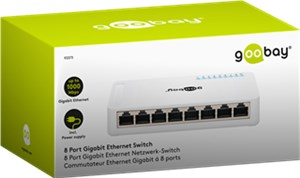 8 Port Gigabit Ethernet Netzwerk-Switch