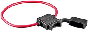Fuse holder for vehicle fuses
