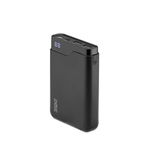 JetPak LED 10.000mAh the power package with USB-C ™ and 2x USB-A connector