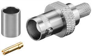 BNC crimp coupler