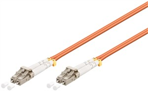 Optical fibre cable, Multimode (OM2) Orange