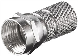Twist-On F plug 7.3 mm