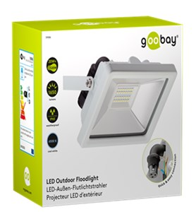 LED outdoor floodlight, 20 W