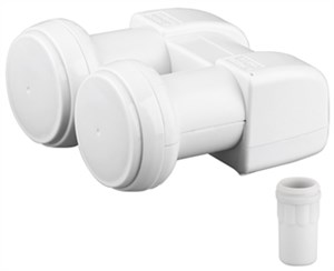 Monoblock Single LNB 6,2°, reversible