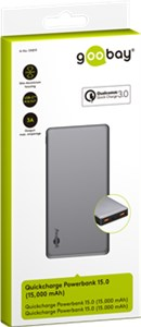 Quick Charge Powerbank 15.0 (15.000 mAh)