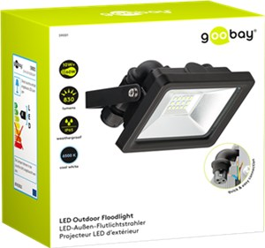 LED outdoor floodlight, 10 W